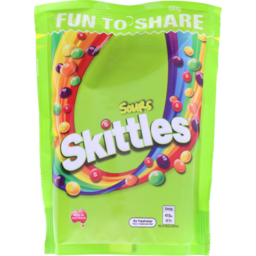 Photo of Skittles Sours Lollies Large Bag 190g