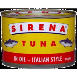 Photo of Sirena Tuna In Oil Italian Style 425g