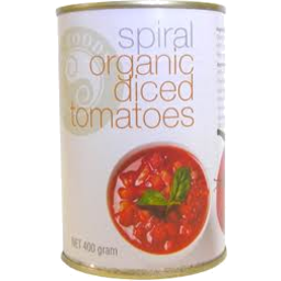 Photo of Spiral Organic Tomato Diced 400g