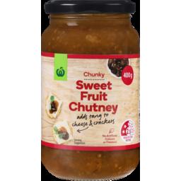 Photo of WW Chutney Sweet Fruit 400g