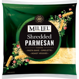Photo of Mil Lel Parmesan Shredded Cheese 170g