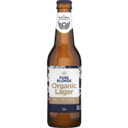 Photo of Pure Blonde Organic Lager Bottles