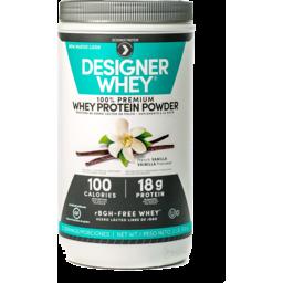 Photo of Designer Whey Vanilla Whey Protein Powder