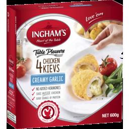 Photo of Ingham's Ingham 'S Table Pleasers 4 Chicken Kievs Creamy Garlic 600g