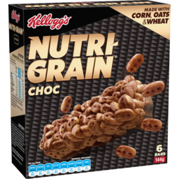 Photo of Kellogg's Nutri-Grain Bars Choc 144g