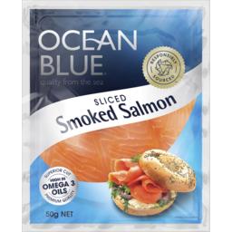 Photo of Ocean Blue Smoked Salmon 50g