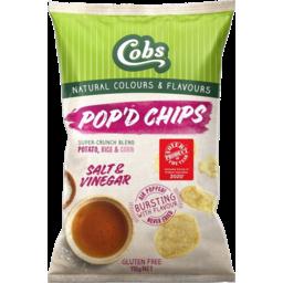Photo of Cobs Pop'd Chips Salt & Vinegar 110g