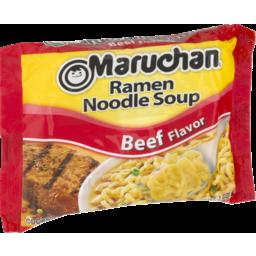 Photo of Maruchan Beef Flavor Ramen Noodle Soup