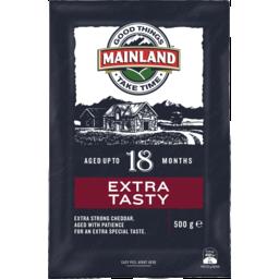 Photo of Mainland Extra Tasty Cheese Block 500g