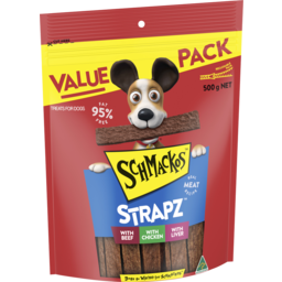 Photo of Schmackos Strapz Variety Pack 500gm