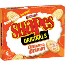 Photo of Arnott's Shapes Originals Cracker Biscuits Chicken Crimpy 175g