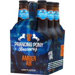 Photo of Prancing Pony Amber Ale Bottles