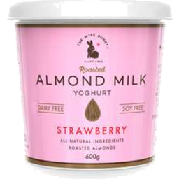 Photo of The Wise Bunny Almond Milk Yoghurt Strawberry 600g