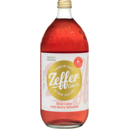 Photo of Zeffer Rose Cider With Berry Infusion 1000ml