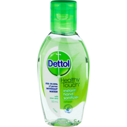 Photo of Dettol Healthy Touch Liquid Antibacterial Instant Hand Sanitiser Refresh 50ml