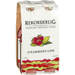 Photo of Rekorderlig Strawberry-Lime Stubbies