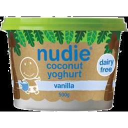 Photo of Nudie Coconut Ygt Vanilla 500g