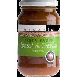 Photo of Spiral Foods Organic Pasta Sauce Basil & Garlic 375gm