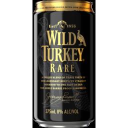 Photo of Wild Turkey Rare Breed & Cola Can