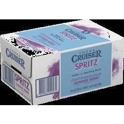 Photo of Vodka Cruiser Spritz Pink Grapefruit Can