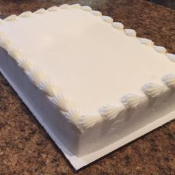 Photo of Chocolate - Vanilla 1/2 Sheet Cake