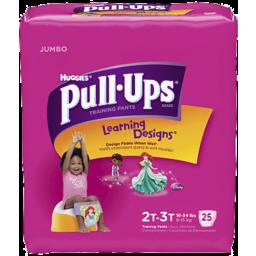 Photo of Pullups Jumbo 2t-3t Girl