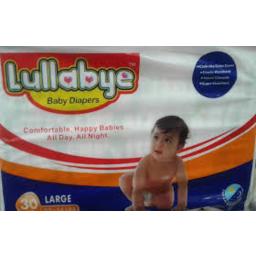 Photo of Lullabye Diaper Large