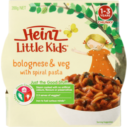 Photo of Hnz L/Kids Psta Bolognaise 200g