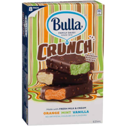 Photo of Bulla Crunch Ice Cream Selection 8 Pack
