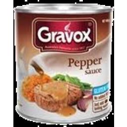 Photo of Gravox Sauce Can Pepper 140g