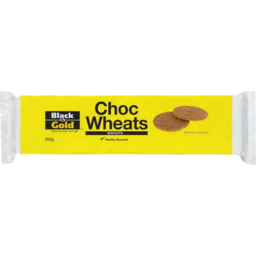 Photo of Black And Gold Biscuits Chocolate Wheats 200gm