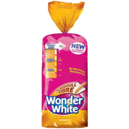 Photo of Wonder White Hi Fibre Plus Sandwich Loaf 700gm
