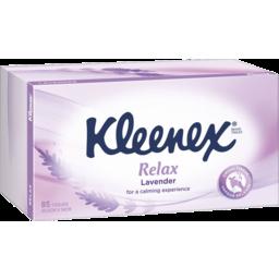Photo of Kleenex Tissue Extra Care Lavender 85s