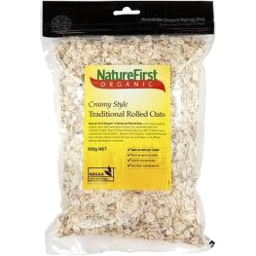 Photo of N/F Trad Org Rolled Oats 500g