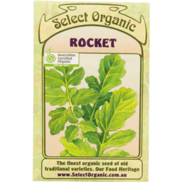 Photo of Select Organic Seeds - Rocket 250 seeds