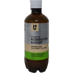 Photo of Utonic Kobucha & Hemp Sparkling Coconut & Lime 350ml