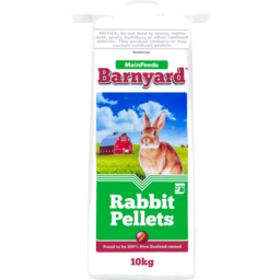 Photo of Mainfeeds Barnyard Rabbit Pellets 10kg