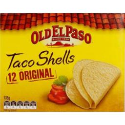Photo of Old El Paso Regular Taco Shells (135g)