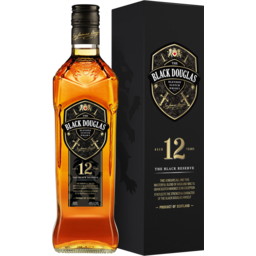 Photo of The Black Douglas 12 Year Old Scotch Whisky 700ml Bottle