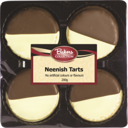 Photo of Bakers Collection Neenish Tarts 4pk