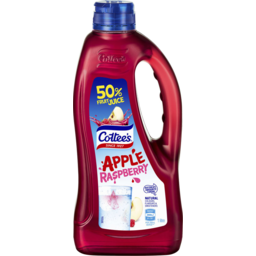 Photo of Cottees Apple Raspberry Cordial 1l
