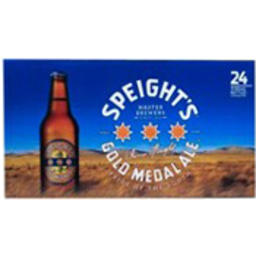 Photo of Speight's Gold Medal Ale Bottles 330ml 24 Pack