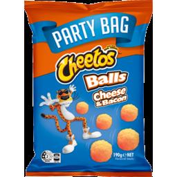 Photo of Cheetos Cheese & Bacon Balls Party Bag 190g