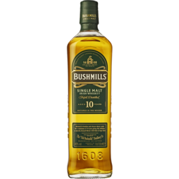Photo of Bushmills Single Malt Irish Whisky 10yo
