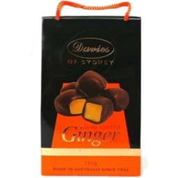 Photo of Davies Dark Choc Ginger 150g