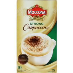 Photo of Moccona Coffee Sachets Strong Cappuccino 10s 150g