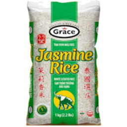 Photo of Jasmine Rice 20 Lbs Bag