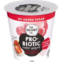 Photo of The Culture Co Probiotic Kefir Yogurt Strawberry 150g
