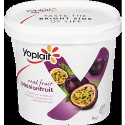 Photo of Yoplait Real Fruit Passionfruit 1kg