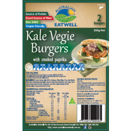 Photo of Burger - Kale Vegie 250gm